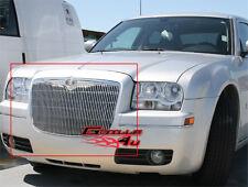 Fits 05-10 Chrysler 300/300C Vertical Main Upper Billet Grille Insert