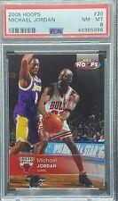 2005 Hoops #20 Michael Jordan (PSA 8) (Freshly Graded) Bulls UNC