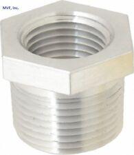"3/4"" X 1/2"" 150 NPT Hex Bushing Aluminum 6061-T6 Sch 40 Pipe Fitting A12050441"