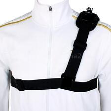 Shoulder Strap Mount Chest Harness Belt Adapter Base for GoPro Hero 1 2 3 3 4VW9