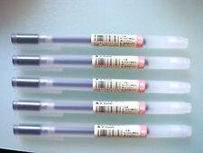 MUJI Japan Gel-Ink Ball Point Pen Black  0.5 mm 5 pcs stationery
