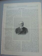 1902 74 James Hobrecht aus Darmstadt Memel Danzig Posen