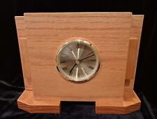 Knock On Wood Time Zone Desk Clock