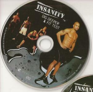 Beachbody Insanity Dig Deeper & Fit Test Replacement Disc Single Disc Only