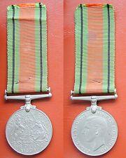 MEDAGLIA GRAN BRETAGNA KING GEORGE VI° WORLD WAR II° THE DEFENCE MEDAL 1939/1945