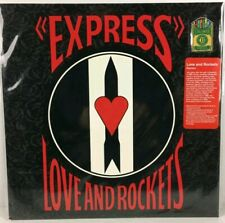 Love and Rockets - Express LP Record - BRAND NEW - Color Vinyl Reissue