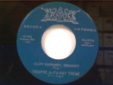 "CLIFF DUPHINEY ""SIEMPRE du-FA-NAY THEME / FOREVER MORE"" 45 MINT"