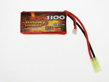 Battery Lipo Lithium 1300 mAH 7,4 V 25 C Billowy Power