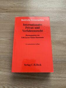 Internationales Privat- und Verfahrensrecht 12. Aufl. 2004 JAYME /HAUSMANN