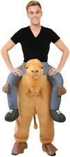 Adult Piggyback Step In Camel Animal Carnival Stag Do Fancy Dress Costume Outfit