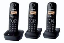 Panasonic KX-TG1613 DECT Identificatore di chiamata Nero KX-TG1613, DECT, 50 voc