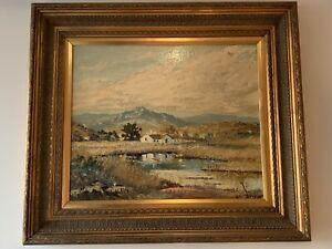 Carlo Sdoya (South African, 1914–1996) - Landscape Oil