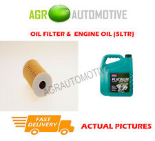 DIESEL OIL FILTER + D 10W40 ENGINE OIL FOR HYUNDAI GETZ 1.5 88 BHP 2005-11