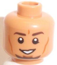 Lego Kanan Jarrus Head x 1 Star Wars Flesh Dual Sided for Minifigure