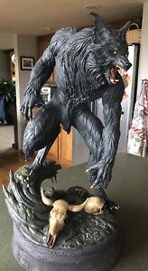 The Howling PCS 1:4 Scale Exclusive Sideshow Statue 11/300 Joe Dante Werewolf