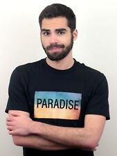 PARADISE Mens T-Shirt Summer Hawaii Beach Sun Sea Aloha Party Holiday Funny Gift
