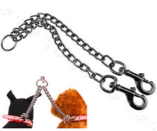 Double Ended Puppy Coupler Leash 2 Ways 2 Pet Walking Safety Twin Lead Pet Chain