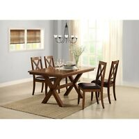Dining Room Furniture Table Set Kitchen Tables And Chairs Modern Wood 5 Pc Sets