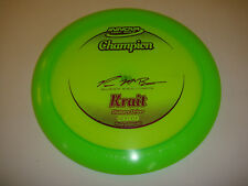 DISC GOLF INNOVA CHAMPION KRAIT DISTANCE DRIVER STRAIGHT 161g NEON GREEN