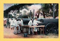 15.5.1916 beschrieben  - Feldbäckerei im Betrieb - das Deutsche Heer -