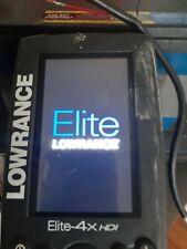 Lowrance Elite 4X Hdi