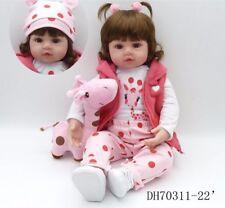 Bebe doll reborn Silicone reborn baby adorable Lifelike toddler Bonecas girl
