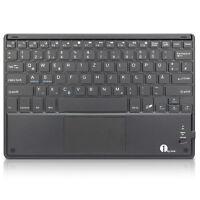 1byone Bluetooth Deutsche Tastatur Drahtlose QWERTZ und Multi Touchpad