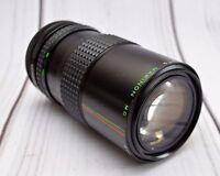 Makinon MC F4.5 80-200mm Canon FD Mount Manual Focus Camera Lens