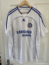 Chelsea Football Shirt Away/Third Kit 2006/2007 Original Adidas Samsung Mens XL