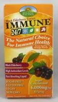 Holistic Balance Immune 24/7 Black Elderberry Extract Orange Flavor 4 oz