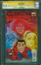 Secret Wars 1 CGC 9.8 3XSS Spider Man Black Cat Gwen Stacy MJ Conner Variant