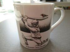 VGC Batman & Robin Cricket Themed Mug by Simon Drew for McLaggan Smith FREE P&P