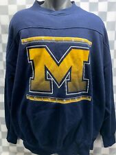 Vintage Michigan WOLVERINES Sweat Shirt Men's Size XL