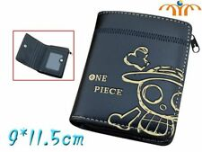 Portefeuille animation Une Pièce crâne pirate logo Luffy