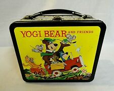 Scarce! Beautiful Condition 1963 Yogi Bear & Friends Metal Lunchbox And Thermos!