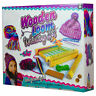 CHILDRENS BEGINNERS WOODEN LOOM WEAVING KNITTING KIT CRAFT ACTIVITY TOY 28-0110