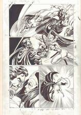 Convergence Suicide Squad #2 p.13 Cyborg Superman Action '15 art by Tom Mandrake Comic Art