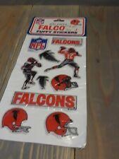 🏈Vintage NOS NFL Football Atlanta FalconsPuffy Stickers 1983 80s