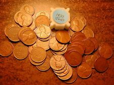 1937-P LINCOLN WHEAT CENT PENNY ROLL, HIGH GRADE!! VF-XF!!!!!
