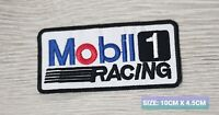 Mobile Racing one Motor Embroidered Iron On/Sew On Patch Badge