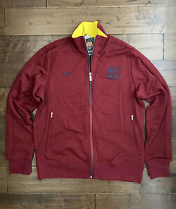 NIKE FC BARCELONA AUTHENTIC N98 TRACK JACKET Team Red/Midnight Navy/Yellow, XL