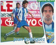 JUAN RODRIGUEZ ESPANA MALAGA.CF CROMO STICKER LIGA ESTE 2005 PANINI