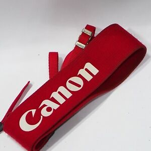 Genuine Canon 5cm Wide Red strap for 3 RT 1n 1DS 5D A1 AE1 T90 F1N camera etc