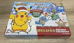 New 2021 Pokemon Happy Holidays Deluxe Advent Calendar Pop-Up N Play B216