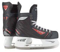 New CCM RBZ 40 ice hockey skates Junior size 2 width D kids skate black/red