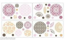 Cocalo Iris Wall Appliques Decals Stickers Girls Nursery Decor Flowers Medallion
