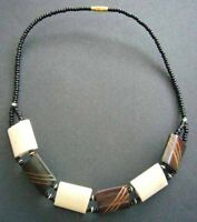 SALE REDUCED! New African Bone Bead Short Necklace - Fairtrade Craft Gift