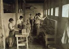 "Old Time Photo, 1917, ICE CREAM CONE Company, Oklahoma, 18""x13"" print, antique"