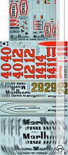 LIM 1/8 DECAL FORD McLAREN M23 TEXACO HUNT MASS VILLENEUVE for EIDAI GRIP ENTEX