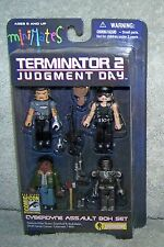 MINIMATES TERMINATOR 2 JUDGEMENT DAY COMIC CON 2009 SDCC